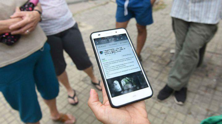 Tensión en zona oeste por un aviso en Facebook que ofrecía una casa para aprovechar