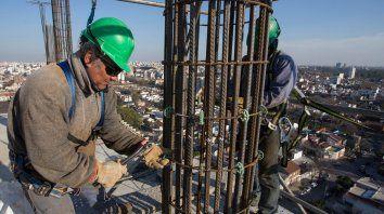 Caída. La actividad de la construcción bajó 15,7% durante el primer mes de 2019.