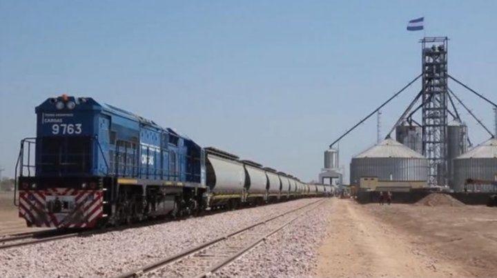 Desembarco. Una empresa china financió al país para reactivar el Belgrano Cargas.