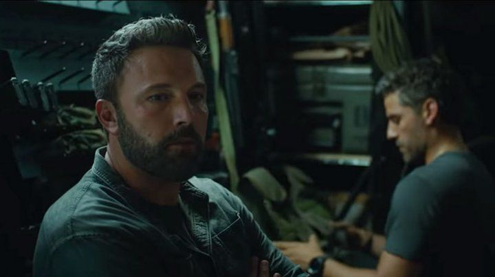 Triple frontera. La última película de Ben Affleck es una producción de Netflix. El actor defendió a la plataforma.