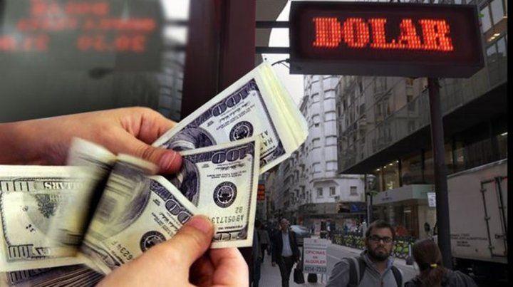 Pizarra. El valor del dólar vuelve a preocupar y le agrega más presión a la suba de precios.