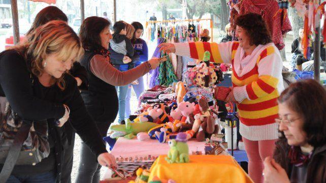 Espacio comunitario. Las ferias de Economía Solidaria son para las mujeres un espacio de cooperación