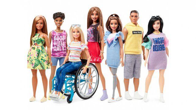 Variedad. La última colección de Barbie la ofrece con toda la diversidad que tiene la vida real.