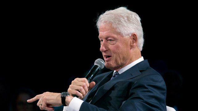 Veteranía. Clinton tiene 74 años. Dejó la Casa Blanca en 2001. Su estrella ha declinado desde entonces.