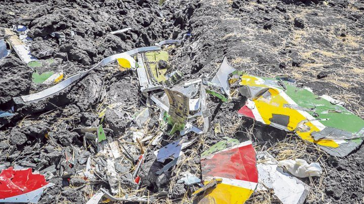 bishoftu. El avión cayó a unos 50 kilómetros de la capital