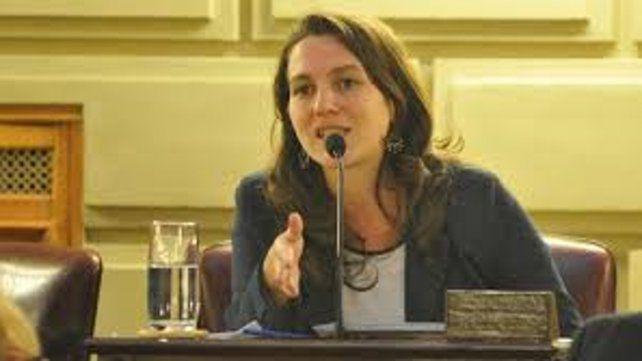 Meier. Autora del proyecto presentado en la Legislatura.
