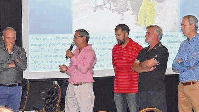 Presentación. El estudio de los especialistas de las tres universidades nacionales fue expuesto ante el público en general el viernes pasado en Melincué.
