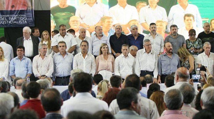 Unidad. El congreso del PJ que se realizó en Ferro habilitó el armado de un frente patriótico amplio.