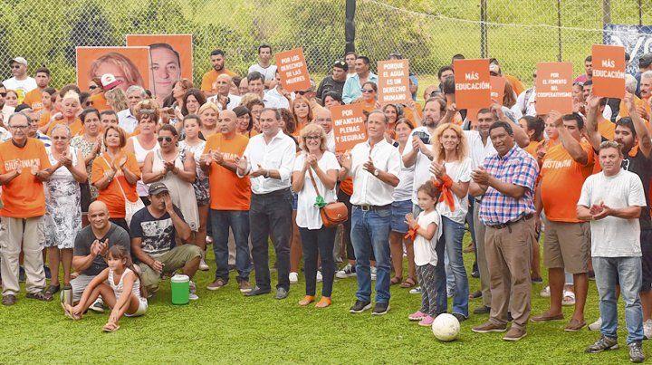 Lanzamiento. Igualdad y Participación presentó sus candidatos.