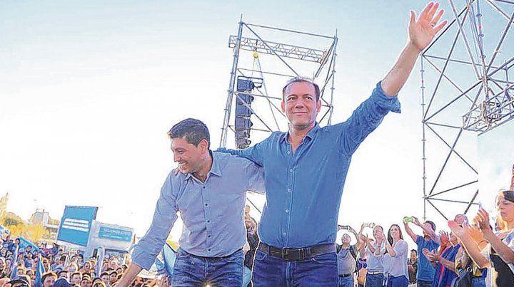 Reelecto. La victoria de Omar Gutiérrez selló el primer capítulo del cronograma electoral de 2019.