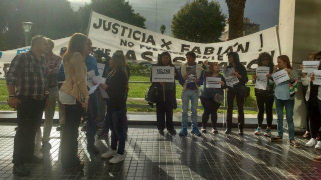 Conmovedor pedido de justicia por Fabián Cragnolino