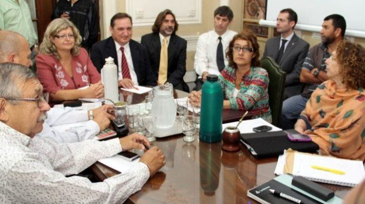 Una nueva reunión paritaria se desarrolló hoy en Santa Fe