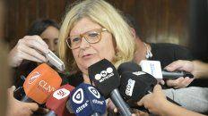 La ministra de Educación se mostró indignada con la actitud de los dirigentes gremiales.