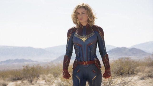 La primera. Capitana Marvel