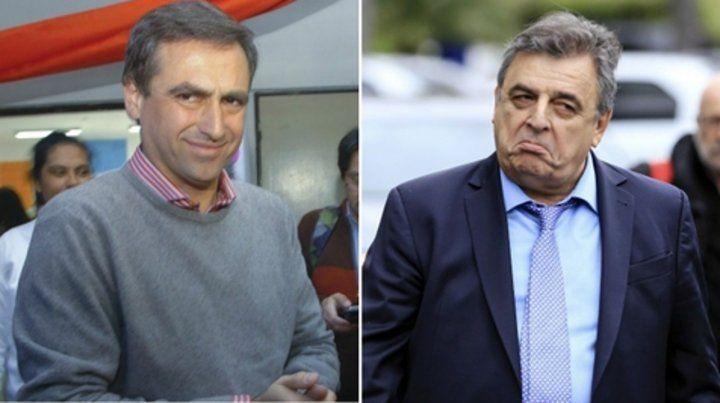 Enfrentados. Ramón Mestre y Mario Negri competirán por Córdoba..
