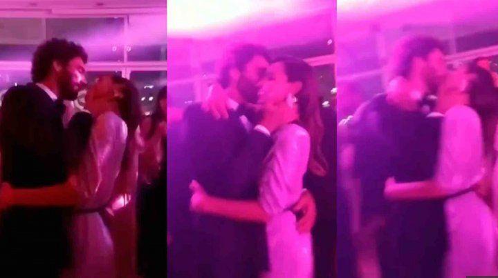 Antes que Pico tenga novia, Pampita se mostró a los besos con Mariano Balcarce
