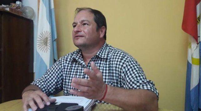 Pedro Tobozo, ahora expresidente comunal de Maciel.