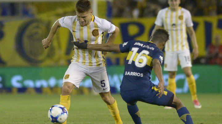 El Colo Gil deja en el camino al colombiano Barrios