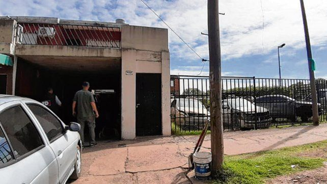 Secuestro. En el lugar se hallaron 2.400 autopartes y siete vehículos.