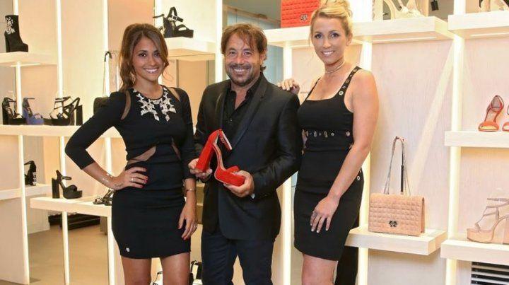 Antonela Roccuzzo cerró su local de zapatos en Barcelona