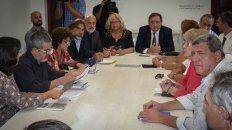 la provincia no ofrecio la clausula gatillo, dice amsafe