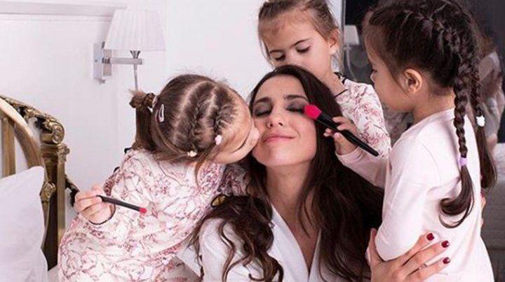 Cinthia Fernández recordó cuando sus hijas fueron al departamento de su novio