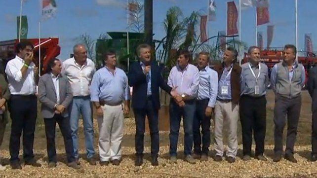 Macri anunció el financiamiento para la compra de maquinaria agrícola