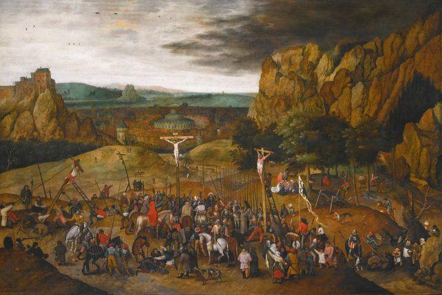 Robaron en Italia el cuadro la Crucifixión del pintor Brueghel el Joven