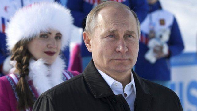 peso pesado. El presidente de Rusia