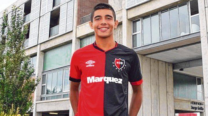 Pichón de crack. Juan Sforza (17 años) renovó contrato con Newells hasta junio de 2022. Es el capitán del Sub 17 de Argentina.