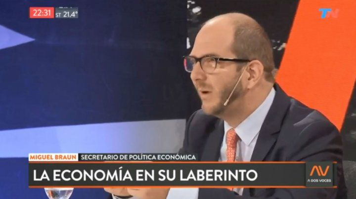 Miguel Braun: La recesión terminó, el salario aumentó y el dólar sube poco