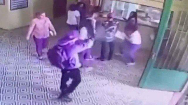 El estremecedor video del momento del tiroteo en la escuela de San Pablo