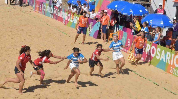 Arrancaron los Juegos de Playa y la primera medalla de oro fue para una argentina
