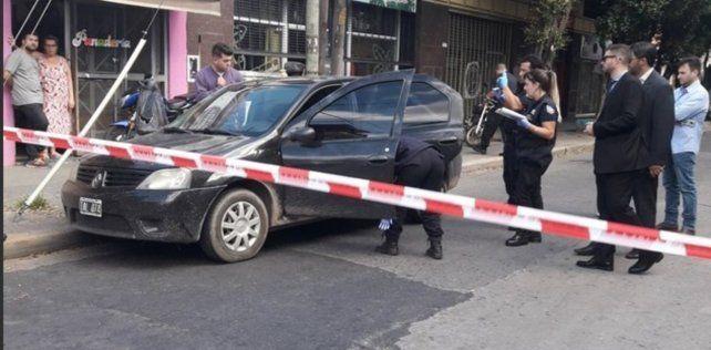 El ataque fue en pleno centro de San Justo.(Foto: vía twitter @dartola)
