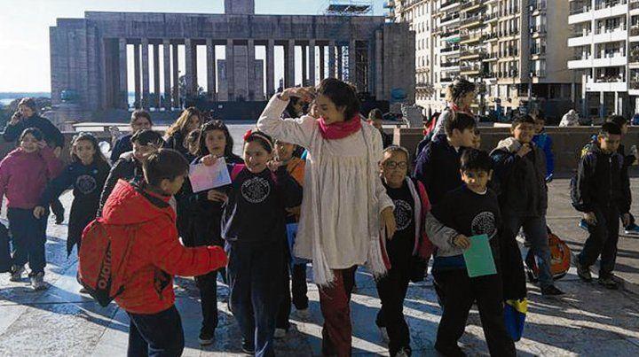 La propuesta busca construir una mirada pedagógica de la ciudad.