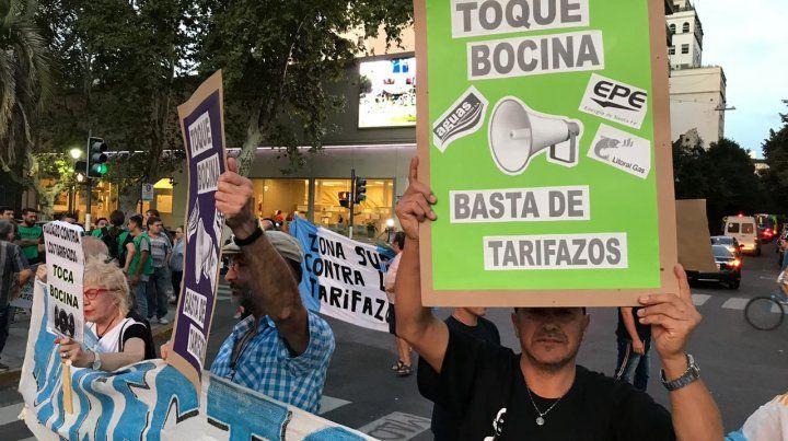 Otro ruidazo en Rosario contra los aumentos de tarifas
