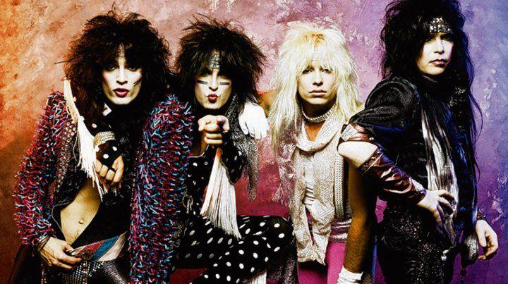 Tintura y excesos. Mötley Crüe en los 80
