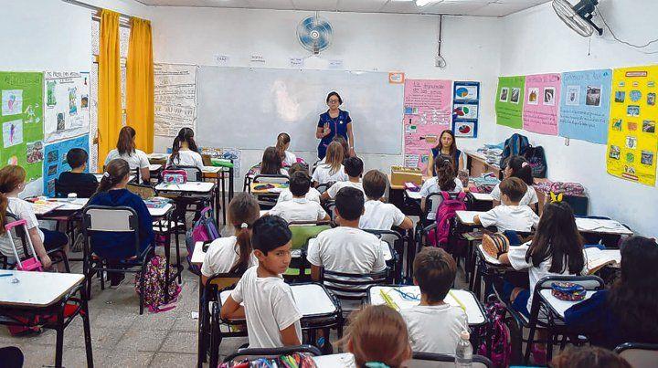 Saquen una hoja. Los alumnos de sexto grado fueron evaluados en Lengua
