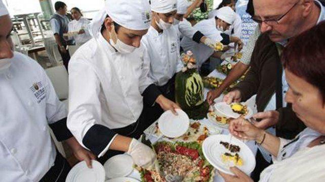 A comer. La Feria Gastronómica será un buen escenario para mostrar la variedad que ofrece la región.