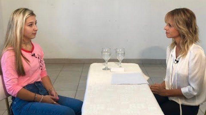 De frente. Galarza charló con Fabbiani en la prisión de Paraná.