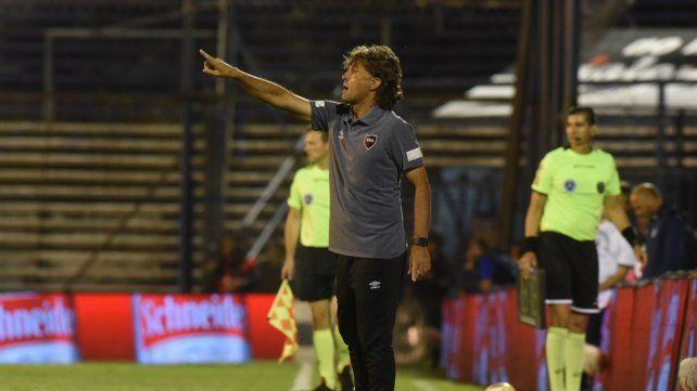 Desatención. El entrenador rojinegro dijo que se perdió por mínimos detalles.