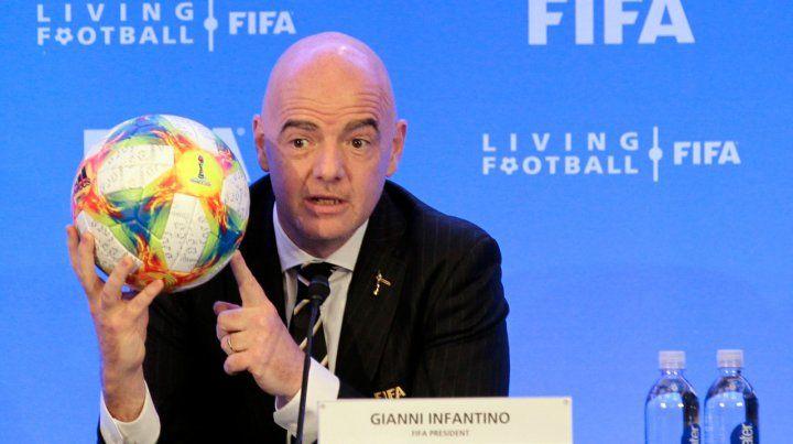 El dueño de la pelota. Gianni Infantino
