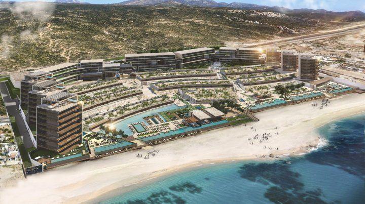 Un gigante. Solaz Luxury Collection Resort Los Cabos está ubicado en Corredor Turístico s/n