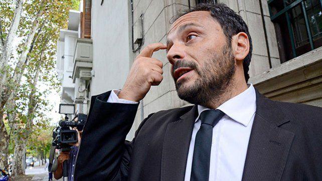 El fiscal. Adrián Spelta llevó adelante la acusación contra Celeste Morlivo y pidió 20 años de cárcel para ella.
