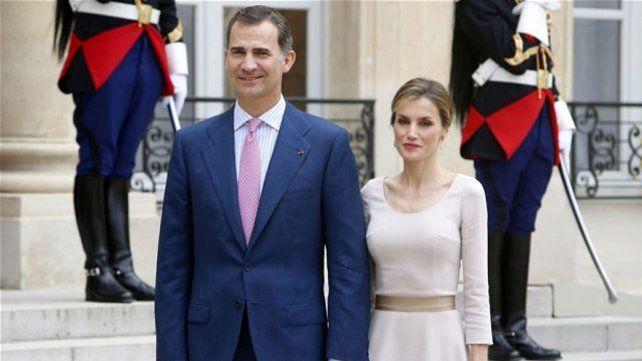 Pareja real. Felipe VI y la reina Letizia inaugurarán el miércoles el VIII Congreso de la Lengua Española.