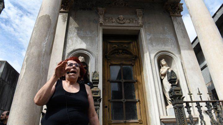 Adriana fue la integrante de la logia que coordinó la visita.