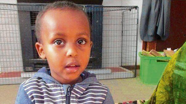 Mucaad ibrahim. El niño fue una de las 50 víctimas de la masacre.