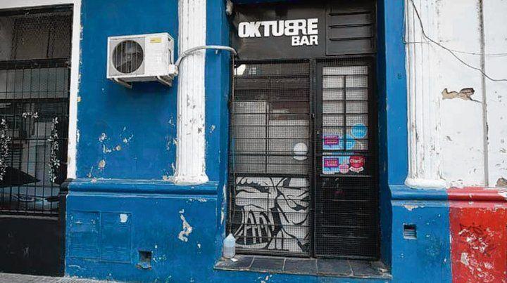 Oktubre. El bar fue clausurado preventivamente por 30 días.