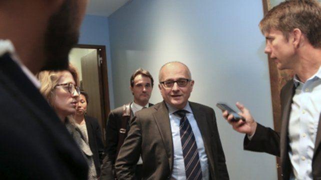 La misión. Cardarelli avaló la gestión del gobierno y alertó por la inflación.
