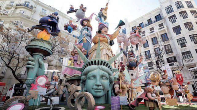 Fallas de Valencia, el colorido arte de una festividad con mucha historia